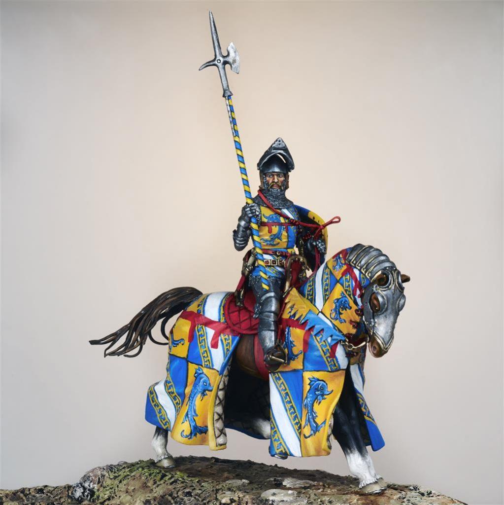Guichard II Dauphin Seigneur de Jaligny - Centre Historique du Bourbonnais - Musée de la Figurine - Le Souffle de l'Histoire à Droiturier Allier