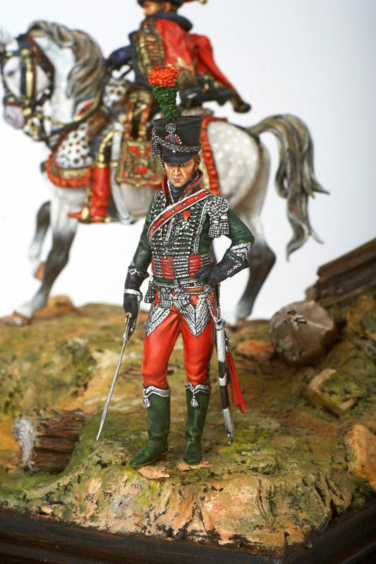 Chasseur à Cheval de la Garde - Centre Historique du Bourbonnais - Musée de la Figurine - Le Souffle de l'Histoire à Droiturier dans l'Allier