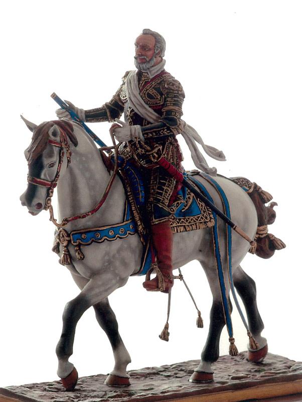 Henri IV, roi de France - Centre Historique du Bourbonnais - Musée de la Figurine le Souffle de l'Histoire à Droiturier Allier