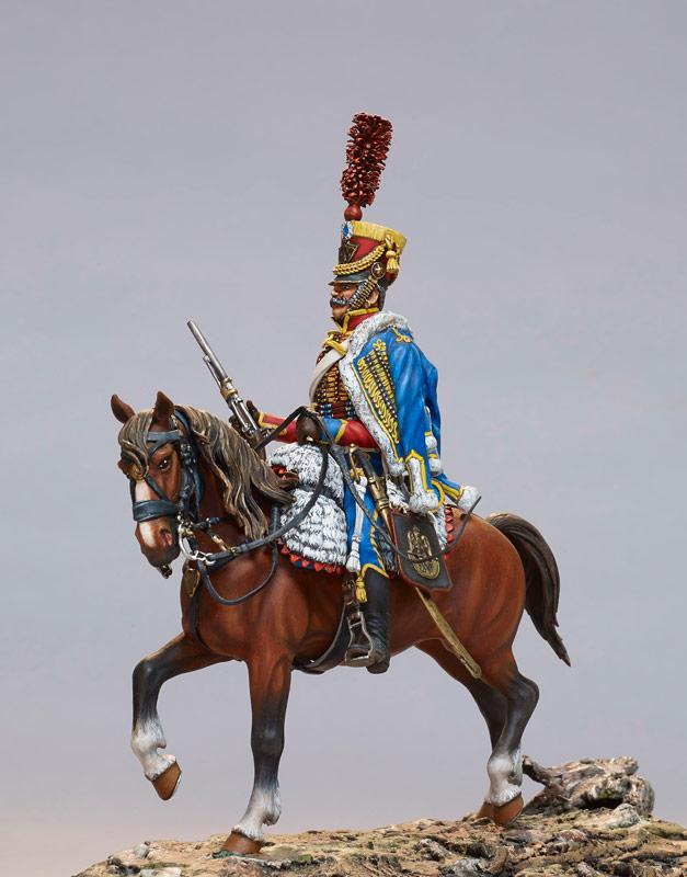 Hussard - Centre Historique du Bourbonnais - Le Souffle de l'Histoire Musée de la Figurine Droiturier Allier