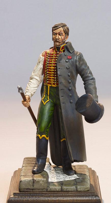 Le Demi-Solde - Figurine Napoléon III - Le Souffle de l'Histoire - Musée - Le Centre Historique du Bourbonnais - Droiturier Allier