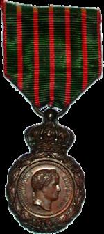 Médaille de Sainte-Hélène - Napoléon - Musée de la Figurine - Centre Historique du Bourbonnais- Le Souffle de l'Histoire à Droiturier Allier
