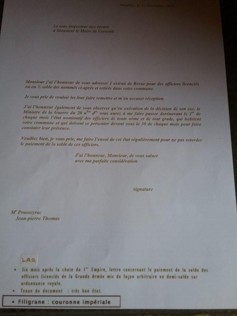 Demi-Solde - Centre Historique du Bourbonnais - Le Souffle de l'Histoire - Musée des figurines à Droiturier Allier Auvergne