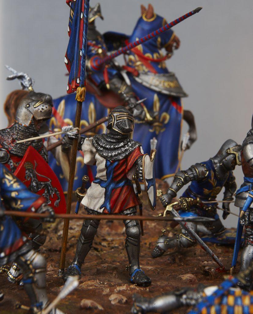 Au Coeur de la bataille d'Azincourt - Centre Historique du Bourbonnais - Le Souffle de l'Histoire - Musée de la Figurine à Droiturier en Allier Auvergne