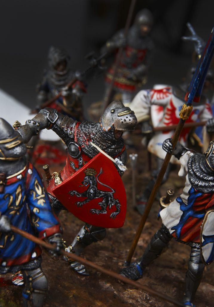 Robert de Chabannes Azincourt - Le Souffle de l'Histoire - Musée de la Figurine - Centre Historique du Bourbonnais à Droiturier Allier Auvergne
