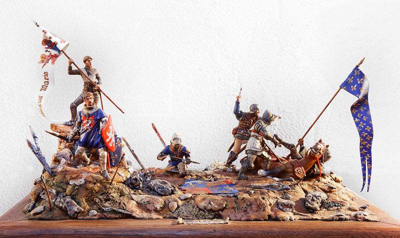Jeanne d'Arc à Orléans - Centre Historique du Bourbonnais - Le Souffle de l'Histoire - Musée de la Figurine à Droiturier Allier Auvergne